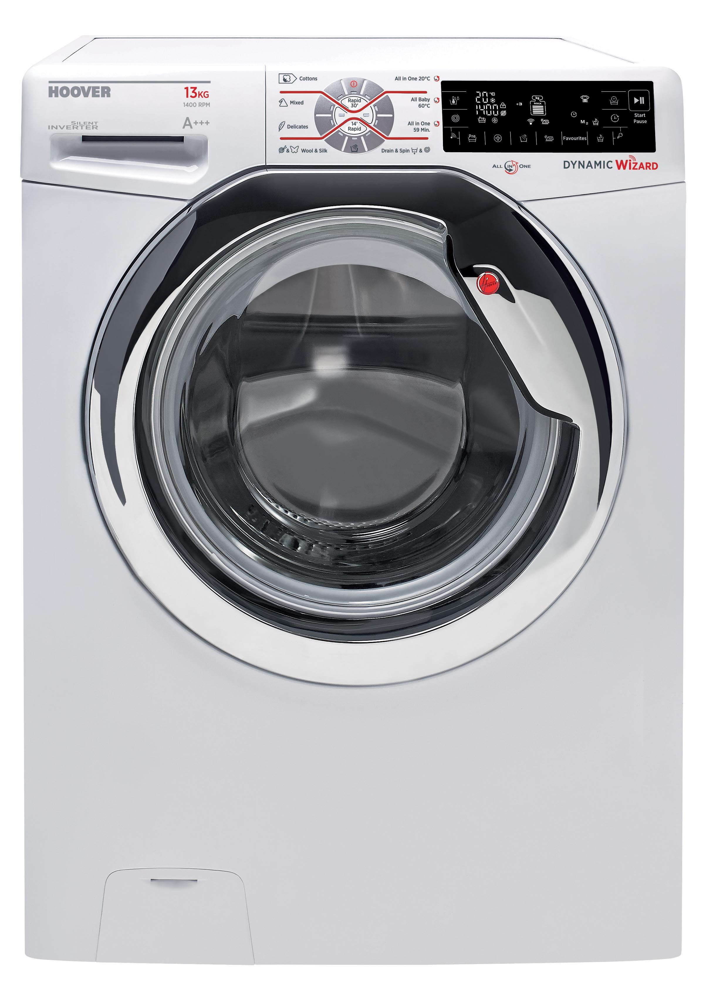 hoover dwt 413 ah waschmaschine 13 kg 1400 u min eek a frontlader. Black Bedroom Furniture Sets. Home Design Ideas