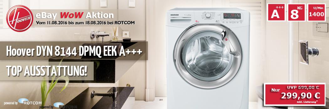 hoover dyn 8144 dpmq eek a 8kg waschmaschine ebay. Black Bedroom Furniture Sets. Home Design Ideas