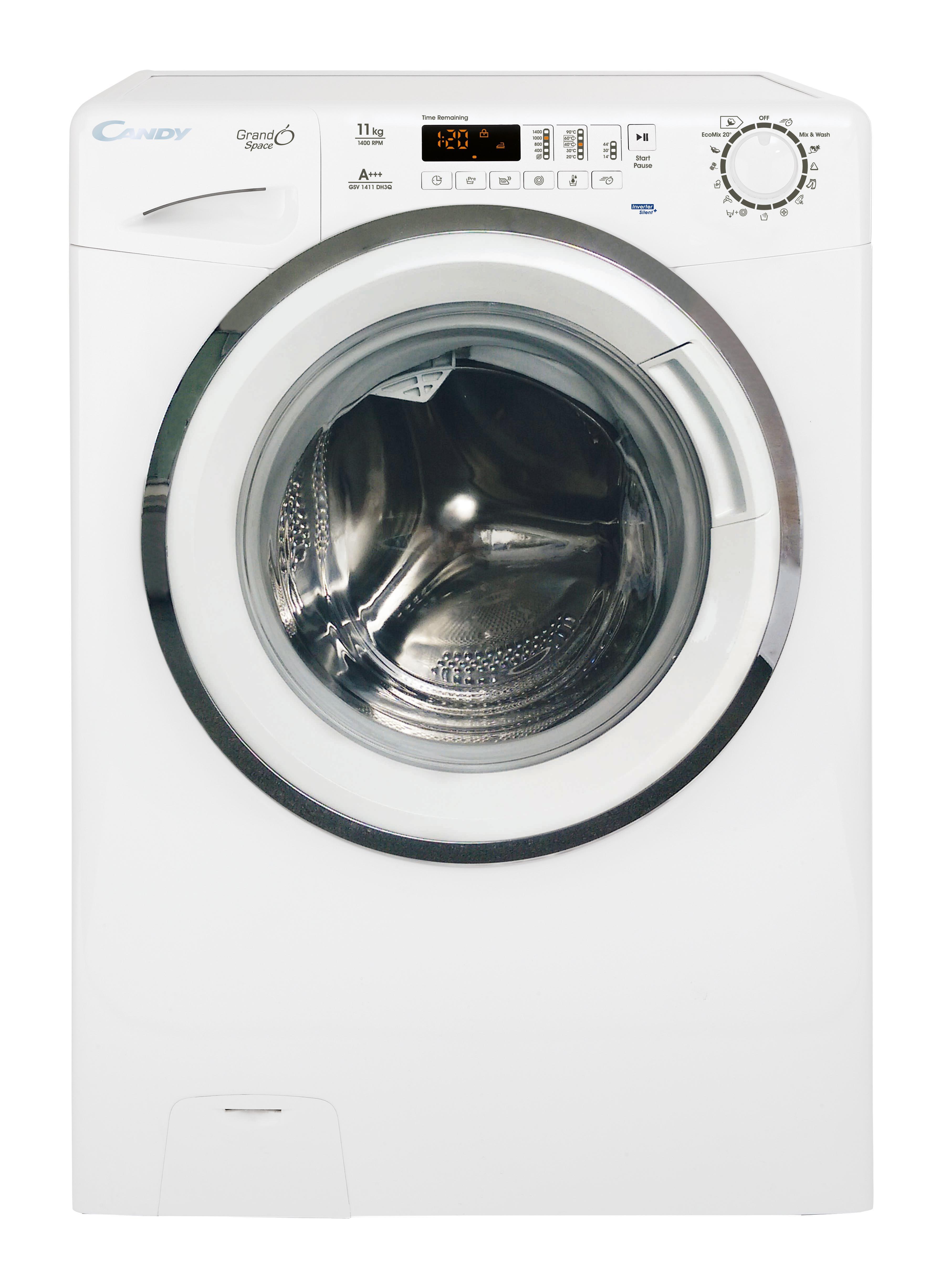 candy waschmaschine gsv 1411 dh3q eek a 11 kg f llmenge frontlader. Black Bedroom Furniture Sets. Home Design Ideas