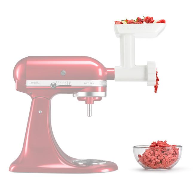 kitchen aid 5fga fleischwolf f r k chenmaschine artisan und classic ebay. Black Bedroom Furniture Sets. Home Design Ideas