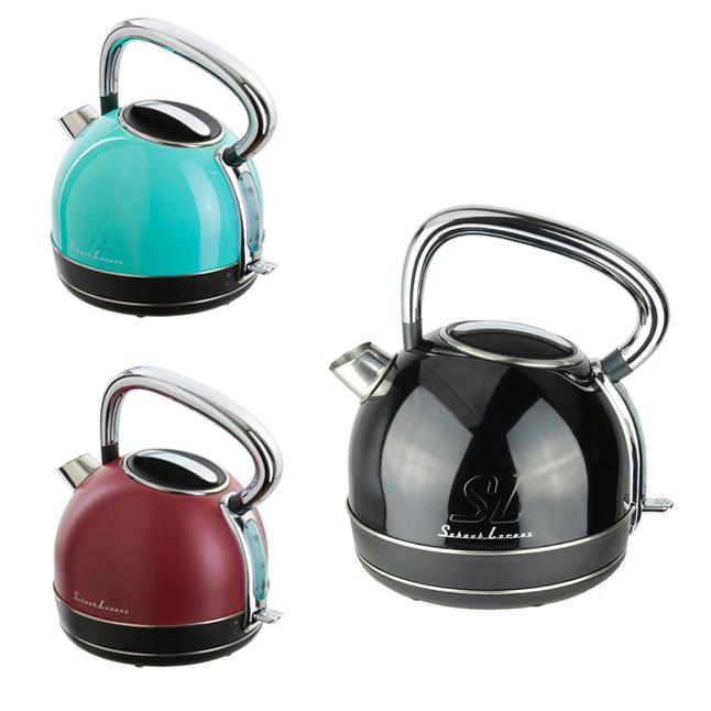 schaub lorenz wasserkocher w1 1 7 ltr chrom edelstahl verschiedene farben el ebay. Black Bedroom Furniture Sets. Home Design Ideas