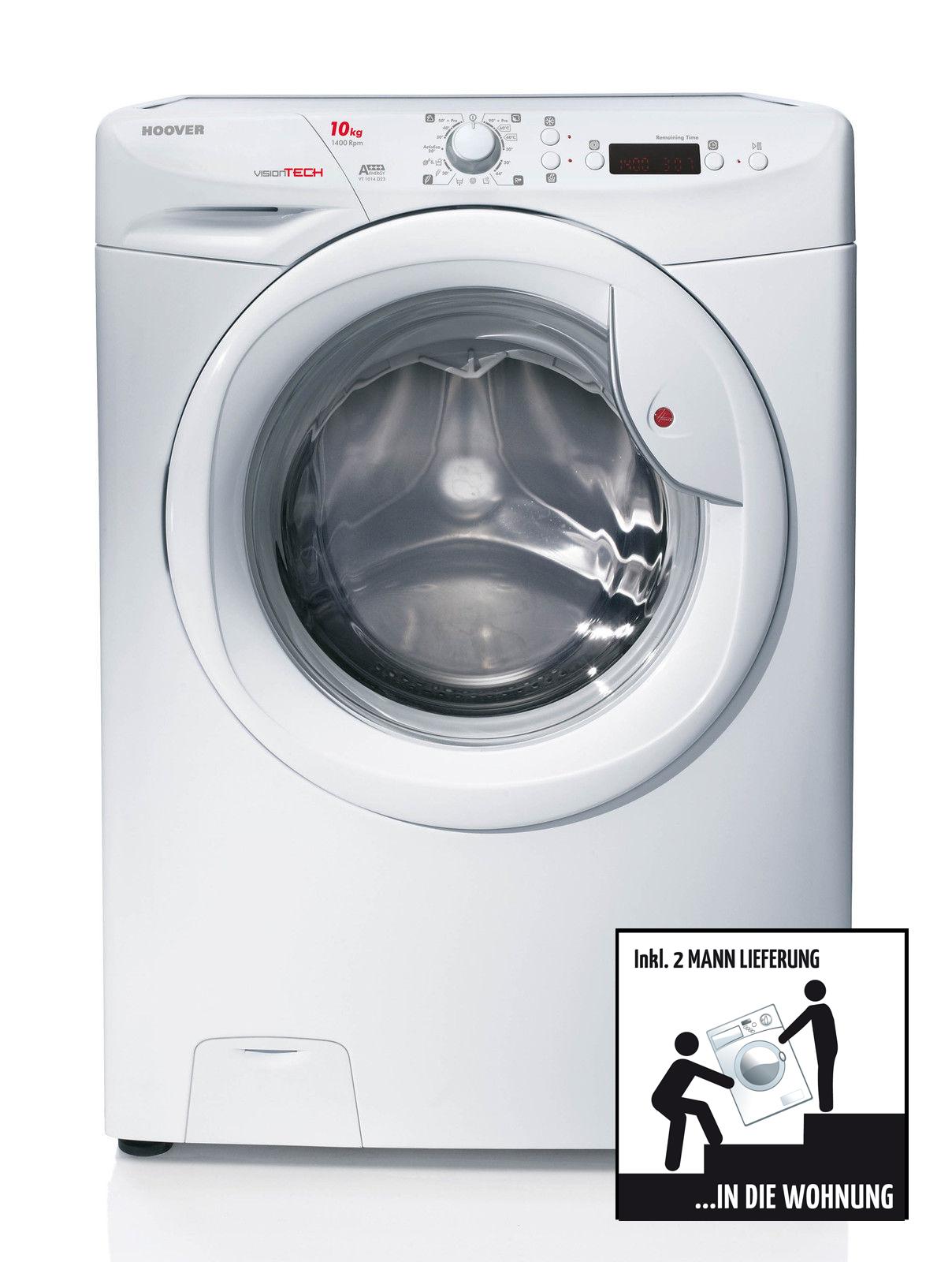 hoover visiontech waschmaschine vt 1014 d23 eek a 10 kg 2 ml frontlader. Black Bedroom Furniture Sets. Home Design Ideas