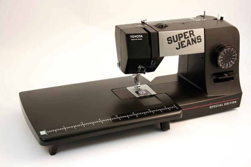 toyota n hmaschine super jeans j15pe special edition mit. Black Bedroom Furniture Sets. Home Design Ideas