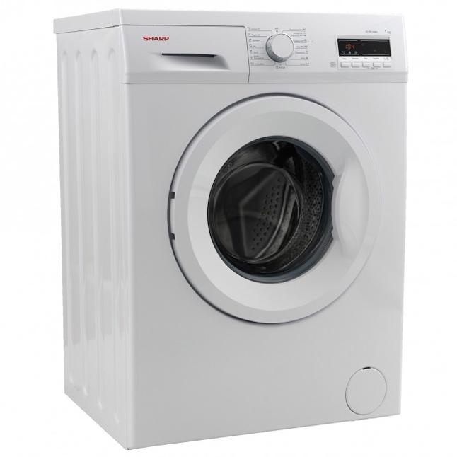 sharp es fb7143w3a de waschmaschine 7 kg a 1400 u min kurzprogramm ebay. Black Bedroom Furniture Sets. Home Design Ideas