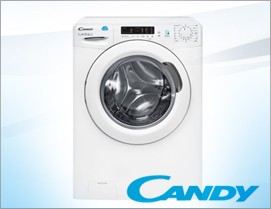 Candy Smart Waschvollautomat CS1272 D3 EEK A+++, Füllmenge 7 KG